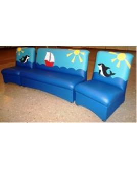 Комплект мягкой мебели МЕЧТА-Море