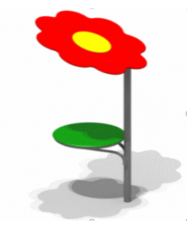 Зонт теневой Ромашка