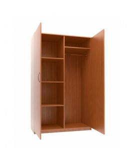 Шкаф комбинированный двухстворчатый, 1124x580x1824