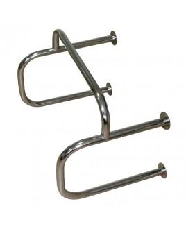 Поручень для писсуара ПП, 600х500х400, d-40, окрашенная сталь