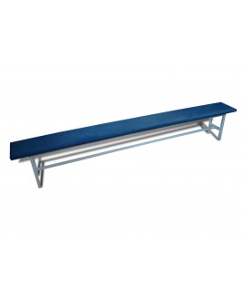 Скамья для раздевалок без спинки (мягкая) - 2,5м