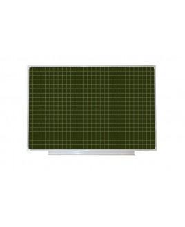 Доска аудиторная магнитная (зеленая), клетка 1200*2000 мм