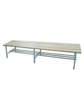 Скамья для раздевалок без спинки - 2,0м
