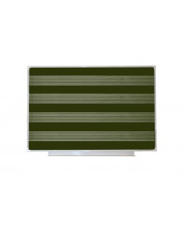 Доска аудиторная магнитная (зеленая), нотный стан 840*1000 мм